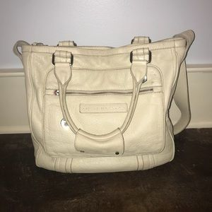 MARC BY MARC JACOBS PEBBLED LEATHER LARGE BAG